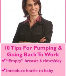 10 Tips For Breastfeeding And Returning To Work